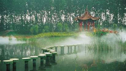 Asian China Architecture Wallpapers Dreamlike Nature Countries