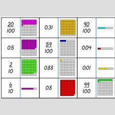 Fraction Decimal Dominoes Tenths, Hundredths, Thousandths Tpt