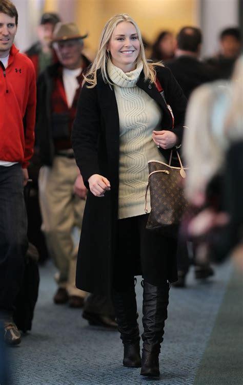 Lindsey Vonn Turtleneck   Lindsey Vonn Looks   StyleBistro