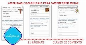 AMPLIAR VOCABULARIO POR CLAVES DE CONTEXTO Aula PT