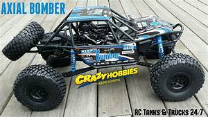 Axial Bomber 1  10th Scale Electric 4wd - Unboxing  U0026 First Impressions