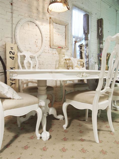 cuisine shabby chic dining table shabby chic dining table