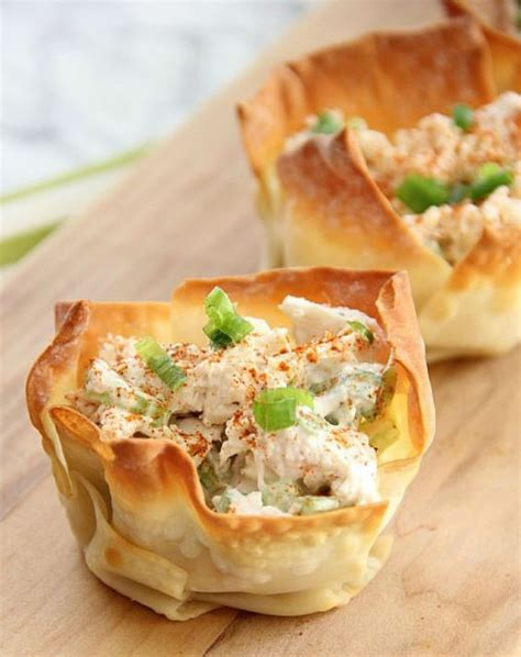cold appetizers appetizer recipes and phyllo cups on
