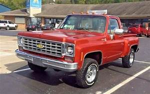 1977 75 76 78 Chevy C  K10 4x4 Pickup Short Bed Stepside