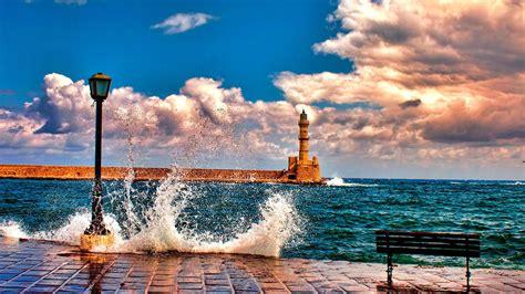 hd wallpapers  bench  shore hd sea