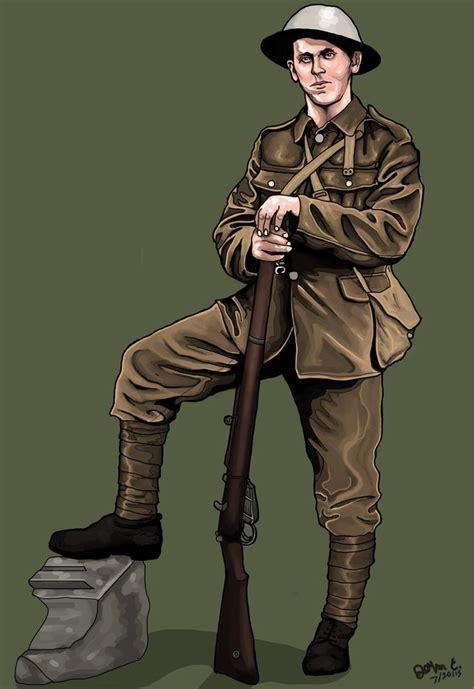 british soldier wwi  jdcinnyc art spref deviant