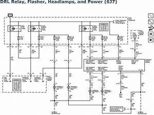 2007 Chevy Impala Headlight Wiring Diagram