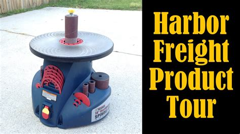 harbor freight barrel fan harbor freight oscillating spindle sander product tour