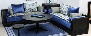 tapis style traditionnel pour salon marocain salons With tapis oriental avec canapés en tissus design