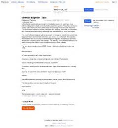 resume sle java developer profile profile summary for