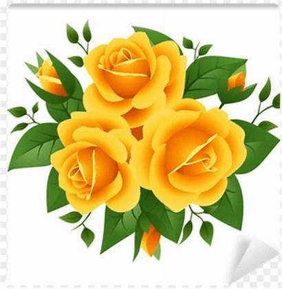 Yellow Roses Clipart Three Toppng Clipground