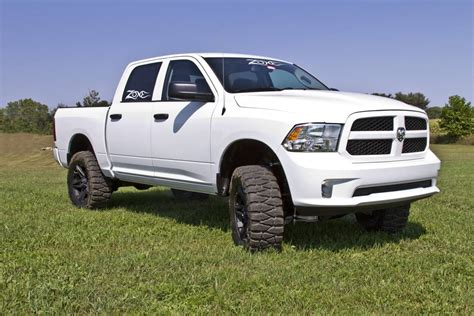 Dodge Ram 1500 Lift Kit by Zone Offroad 6 Quot Suspension Lift Kit For 2013 2017 Dodge
