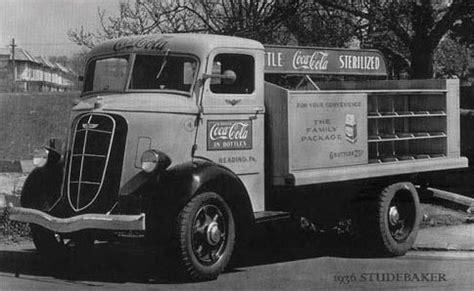 vintage coca cola delivery trucks spydersden