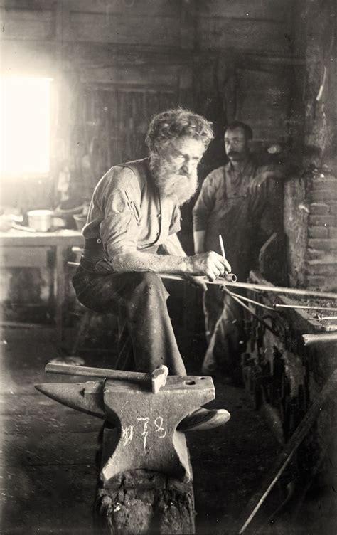 vintage photo blacksmithing blacksmith