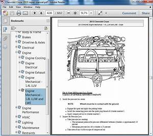Chevrolet Cruze 2013 Repair Manual