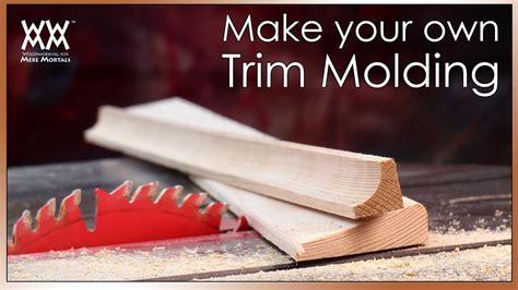 beautify  home  custom trim molding save money