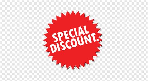 red-and-white-special-discount-icon-png-clip-art ...
