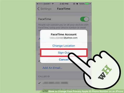 how to turn caller id on iphone how to change your primary apple id phone number on an iphone 21137