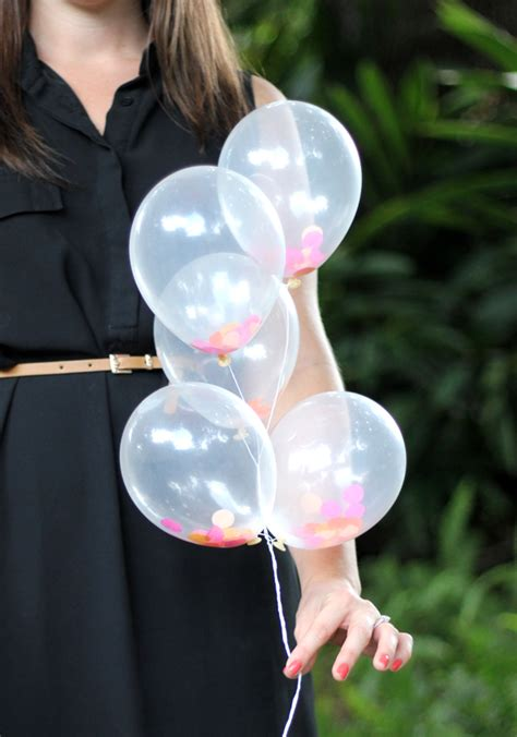 balloons mini confetti diy filled balloon tweet close
