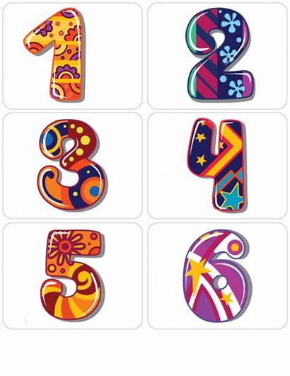 Numbers Clipart Math Flashcard Spanish Number Flashcards