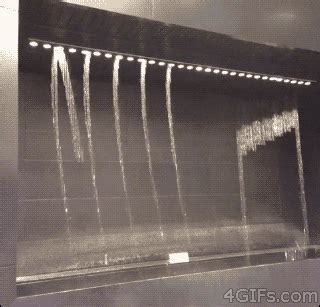 note waterfall gif japan notes waterfall fountain water fountain 4gifs