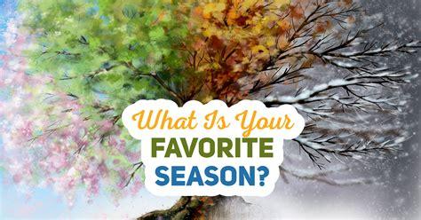 What Is Your Favorite Season? - Quiz - Quizony.com
