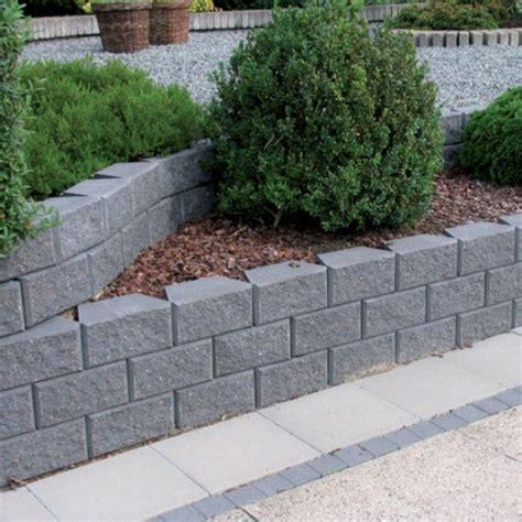 Hornbach Gartenmauer  Mischungsverhältnis Zement