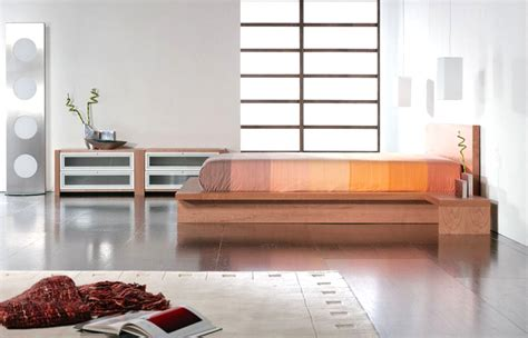 staccato bed side view  cherry finish  attached