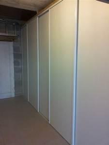 realisez un rangement simple dans votre garage reussir With faire ses portes coulissantes