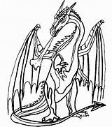 Coloring Dragon Fire Ice Cool Knights Printable Popular Coloringhome sketch template