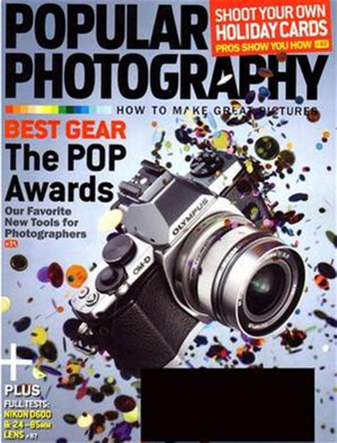 Tanga Popular Photography Magazine, $499  Southern Savers