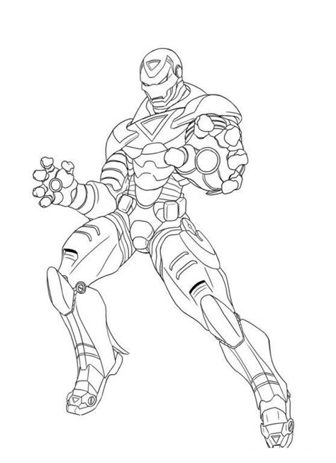 earths mightiest heroes  avengers coloring page  coloring pages
