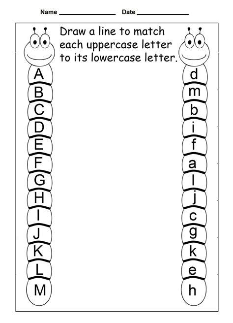 year  worksheets printable alphabet  year