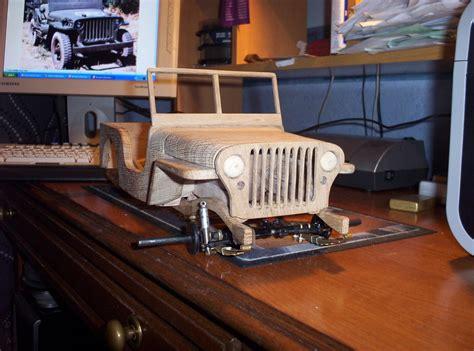 wooden jeep plans willys jeep wooden model by andydachippy lumberjocks