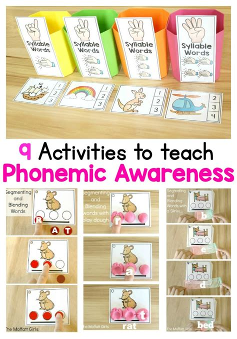 what is phonemic awareness and why teach it 853 | 9%2Bactivities%2Bto%2Bteach%2Bphonemic%2Bawareness%2Bpic