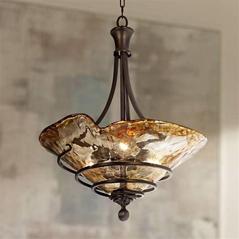 three light pendant chandelier uttermost vitalia 22 1 4 quot wide 3 light pendant chandelier