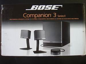 Amazon Com  Bose Companion 3 Series Ii Multimedia Speaker System  Graphite  Silver   Electronics
