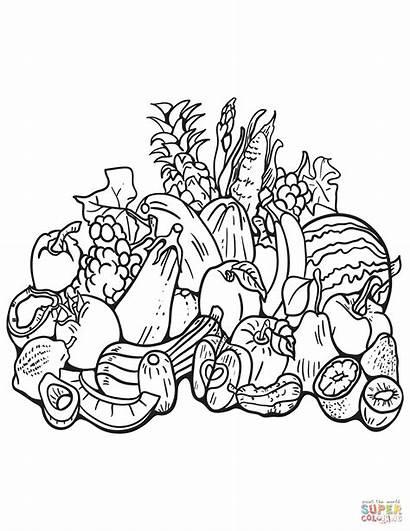 Coloring Harvest Fall Printable Kolorowanki Ausmalbilder Dibujos
