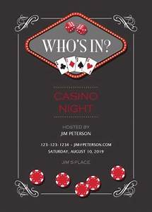 Free Printable Coupon Template Casino Clipart Invitation Template Free Casino Invitation