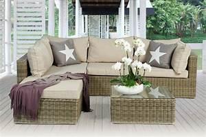 garten loungemobel fur eine herrliche atmosphare With französischer balkon mit garten ecksofa