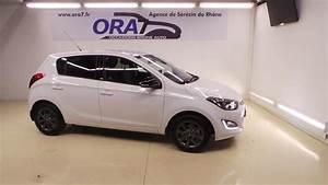 Hyundai I20 Blanche : hyundai i20 1 2 pack go occasion lyon s r zin rh ne ora7 ~ Gottalentnigeria.com Avis de Voitures