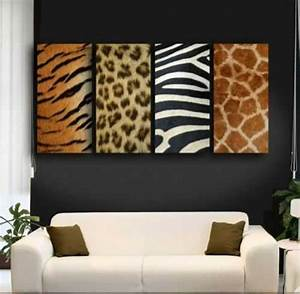 exotic trends in home decorating bring animal prints into With kitchen cabinet trends 2018 combined with leopard print wall art decor