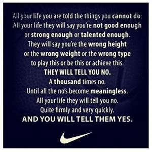 Nike Soccer Quotes And Sayings. QuotesGram