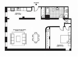 one bedroom townhouse floor plans style ideas also for With 1 bedroom apartment floor plans