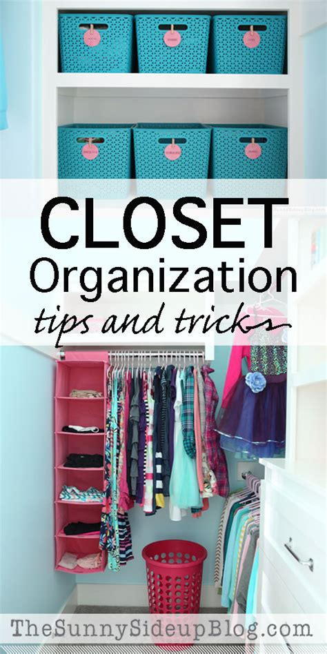 Closet Organization (tips And Tricks)  The Sunny Side Up Blog