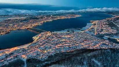 Wallpapers Tromso Norway Tromsoe Backiee