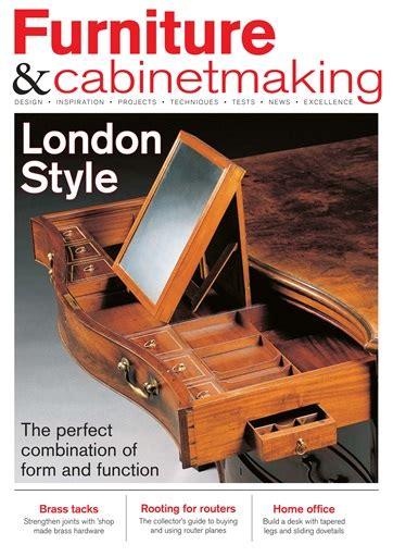furniture cabinetmaking magazine december
