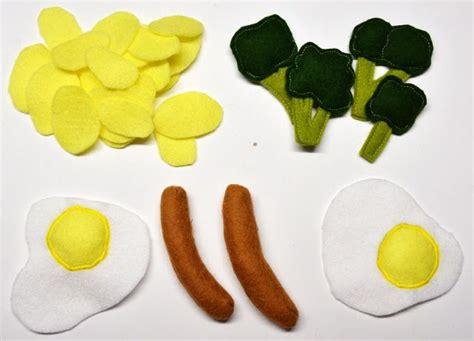 Spiegelei Machen Anleitung by Filz Felt Food Spiegelei Kartoffeln Brokkolie W 252 Rstchen