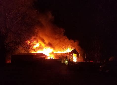 Barn Fires by Horses Unharmed In Two Barn Fires Four Structures