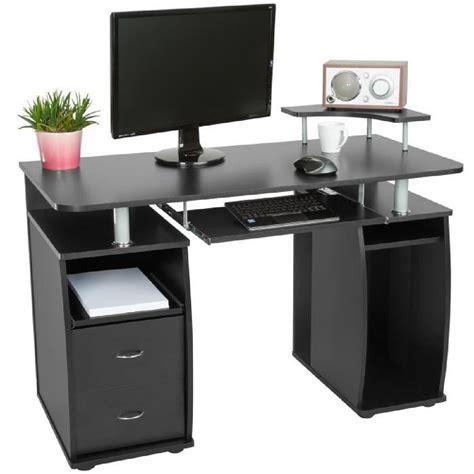 cdiscount ordinateur bureau bureau informatique multimédia meuble de bureau pour